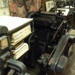 gianni basso print shop printing machines venice