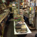 libreria acqua alta - venice book store bath tube