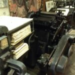 gianni basso print shop printing machines venice