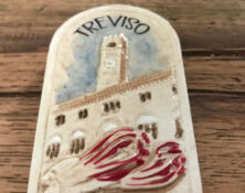 treviso and radicchio frigge magnet