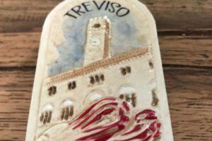 treviso and radicchio frigge magnet