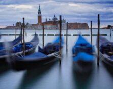 vencie gondola and st george island